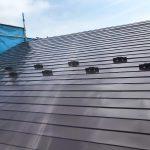 仙台市で屋根の塗装をした家