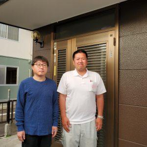名取市内で外壁と屋根を塗装したお客様