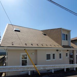 仙台市で断熱塗装をした家