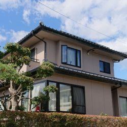 仙台市で外壁塗装した住宅
