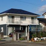 亘理町で外壁塗装をした住宅