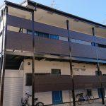 仙台市で外壁塗装をしたアパート