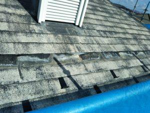スレート屋根の部分交換