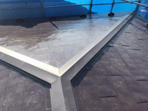 屋根の棟修理