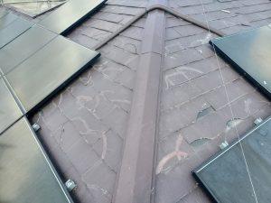 スレート屋根の不具合