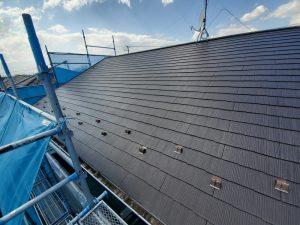 屋根の塗り替え後