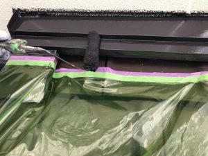 雨押えの塗装