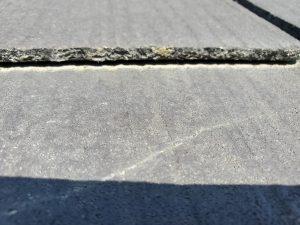 屋根の接写