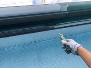 破風・雨樋の塗装