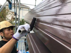 パラペット塗装