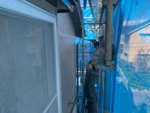 外壁高圧洗浄