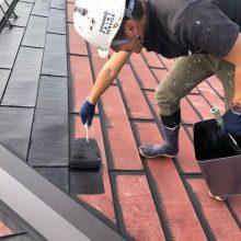 名取市植松 屋根塗装 S様邸