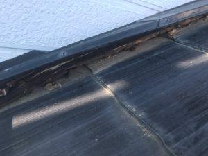 屋根下地の腐食