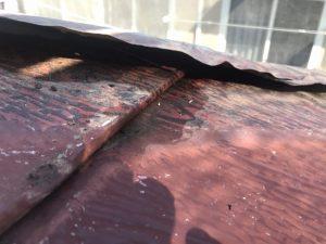 屋根の施工不良