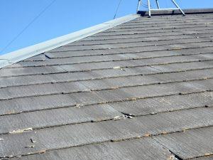 ノンアスベスト屋根の傷み