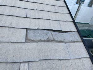 スレート屋根差し替え