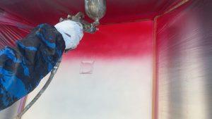 ドアスプレー塗装