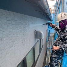 名取市田高 外壁塗装 S様邸