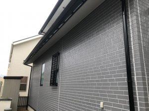 塗装後の家