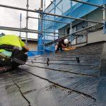 屋根縁切り